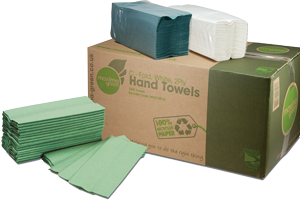 Maxima Green paper cleaning products range